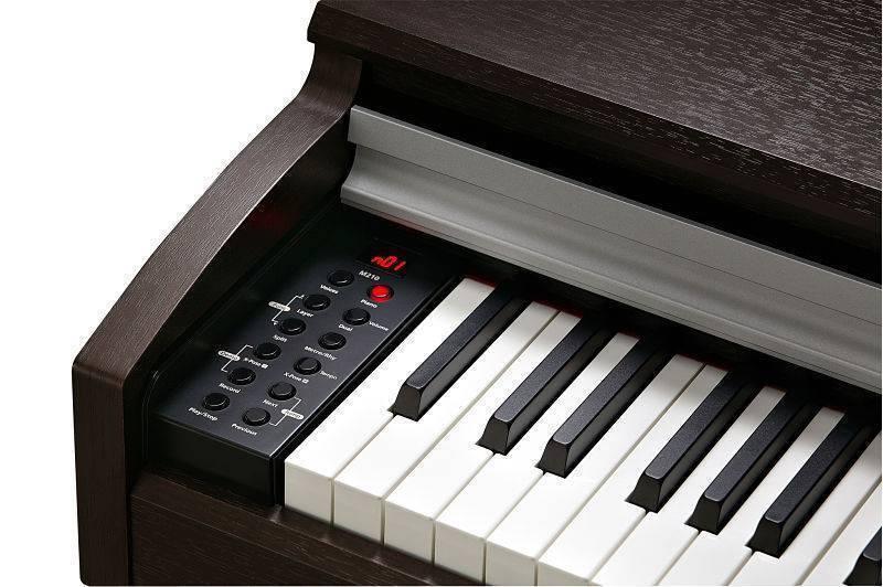 PIANO M210 MENUS IZQUIERDOS