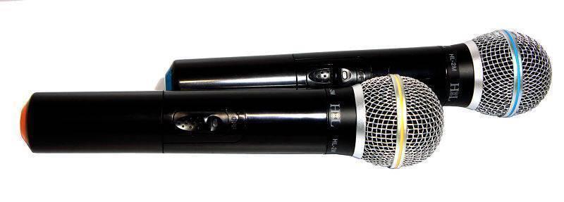 microfonos inalambricos de mano