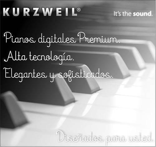 Pianos Kurzweil