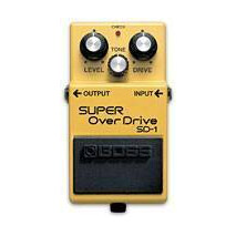 Pedal Efecto Boss Superoverdrive