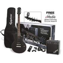 Paquete Guitarra Electrica Les Paul Epiphone