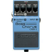"""Pedal Boss De Efecto CEB-3 """"Bass Chorus"""""""