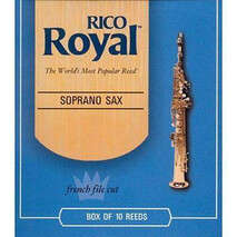 CAJA DE 10 CAÑAS RIB1025(10) SAX SOPRA. 2 1/2 RICO ROYAL(SSRR2