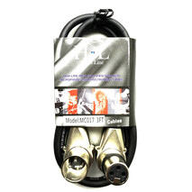 MC017 3FT Cable XLR a XLR Escuadra de 1 metro