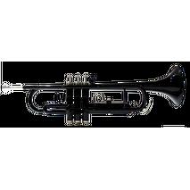 Trompeta en Bb Color Negra Symphonic