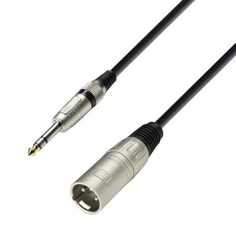 Cable XLR macho a plug 3 metros Adam Hall