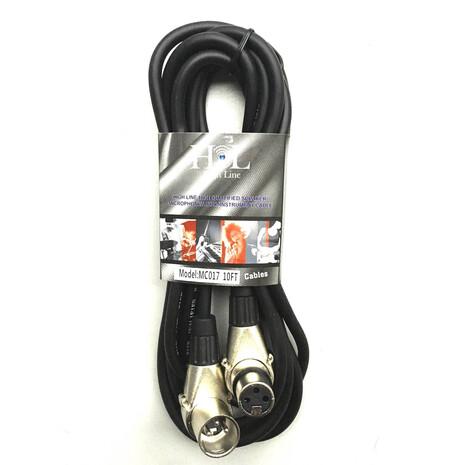 Cable XLR a XLR de 3 mtr tipo sw